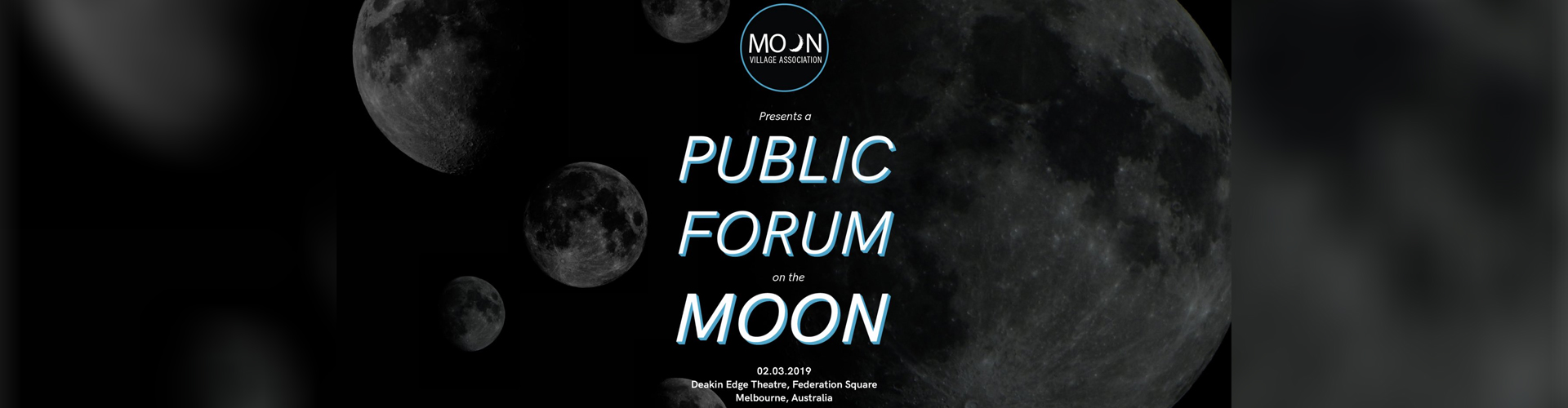 Recordings from the Public Forum on the Moon 2019, Melbourne, Australia