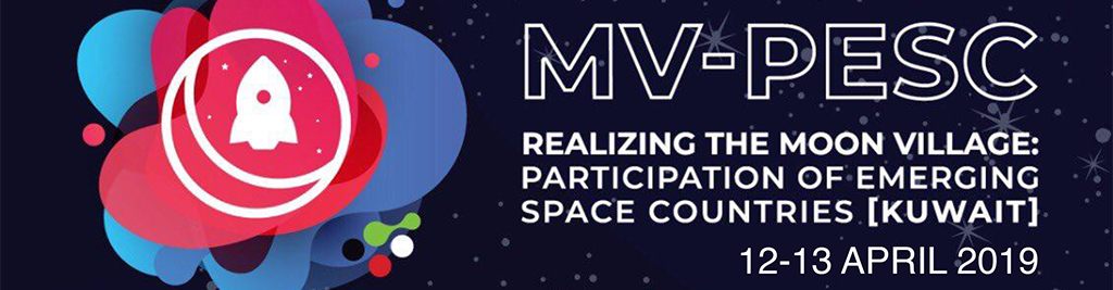 Moon Village Participation for Emerging Space Countries (Kuwait)