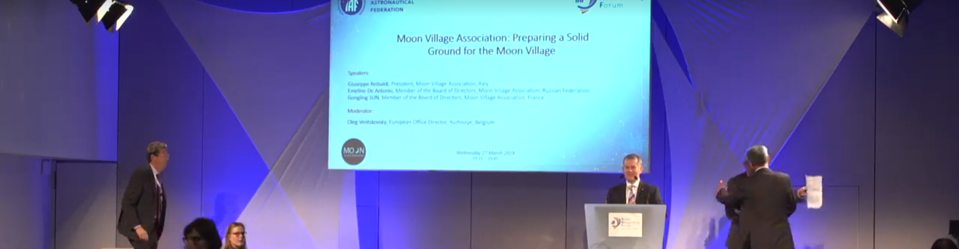 GNF – Moon Village Association: Preparing a Solid Ground for the Moon Village
