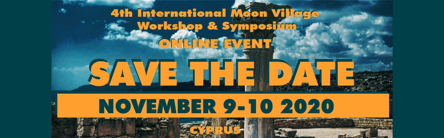 Save the date – 4th International Moon Village Workshop & Symposium – Online Event