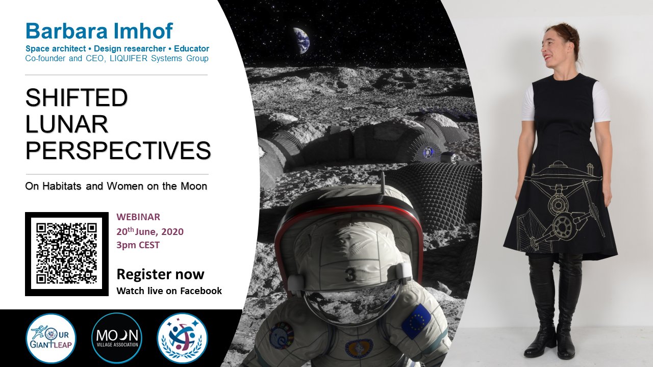 MVA & SGAC Webinar: Shifted lunar perspectives on habitats and women on the Moon