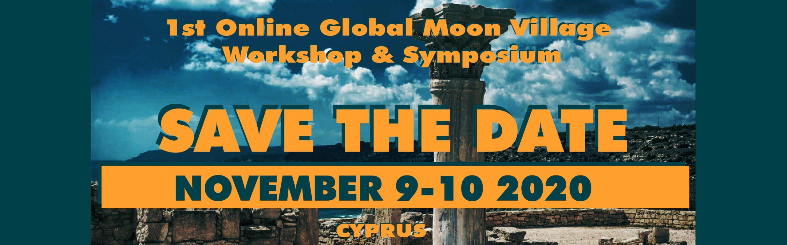 Save the date – 1st Online Global Moon Village Workshop & Symposium