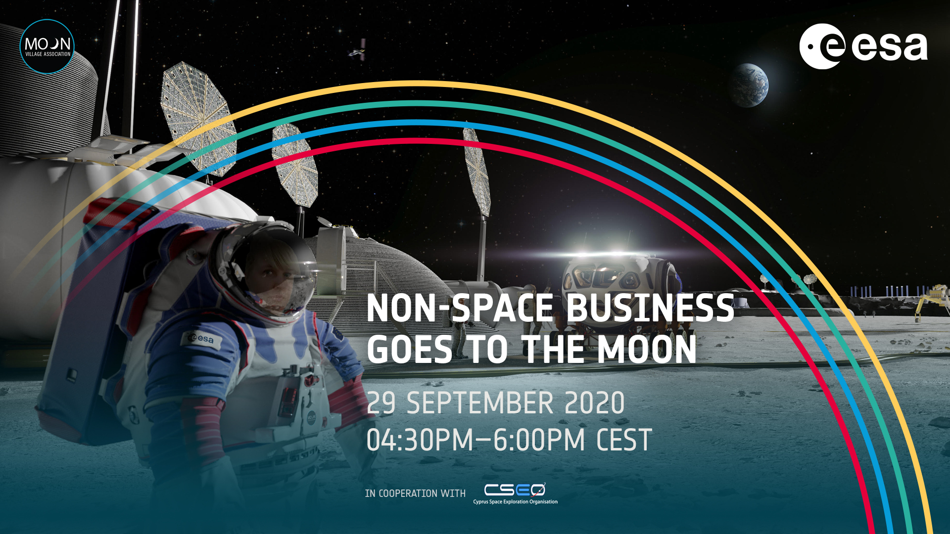 ESA-MVA online seminar – Non-space business goes to the Moon