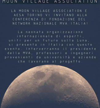 Inaugural Meeting of the Moon Village Association Italian Network: May 23, 2018